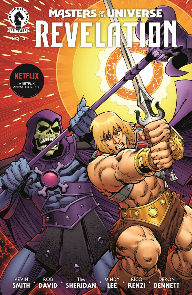 Masters of the Universe: Revelation #3 (Cover B)