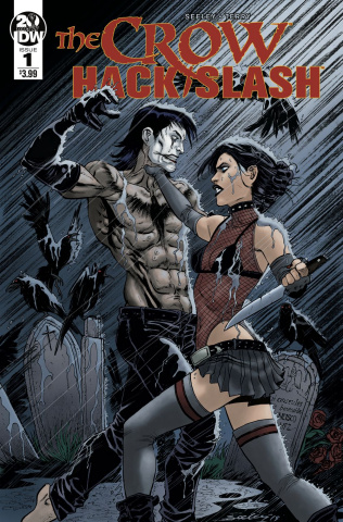 The Crow / Hack/Slash #1 (Seeley Cover)