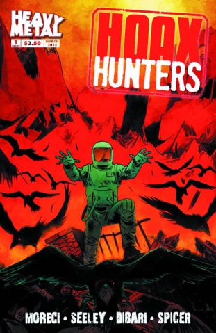 Hoax Hunters #1 (Dibari Cover)