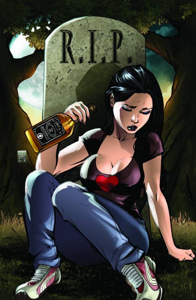 Grimm Fairy Tales: Wonderland - Down the Rabbit Hole #5 (Garza Cover)