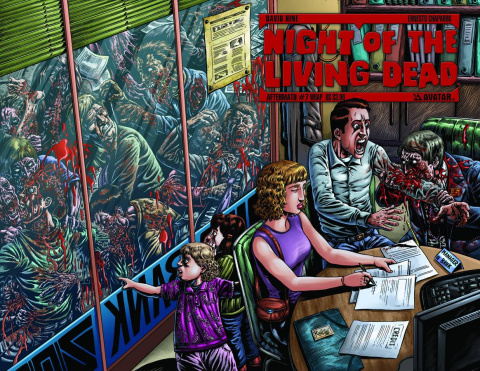 Night of the Living Dead: Aftermath #7 (Wrap Cover)