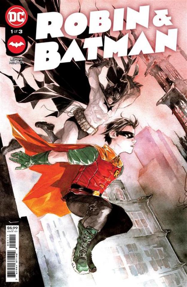 Robin & Batman #1 (Dustin Nguyen Cover)