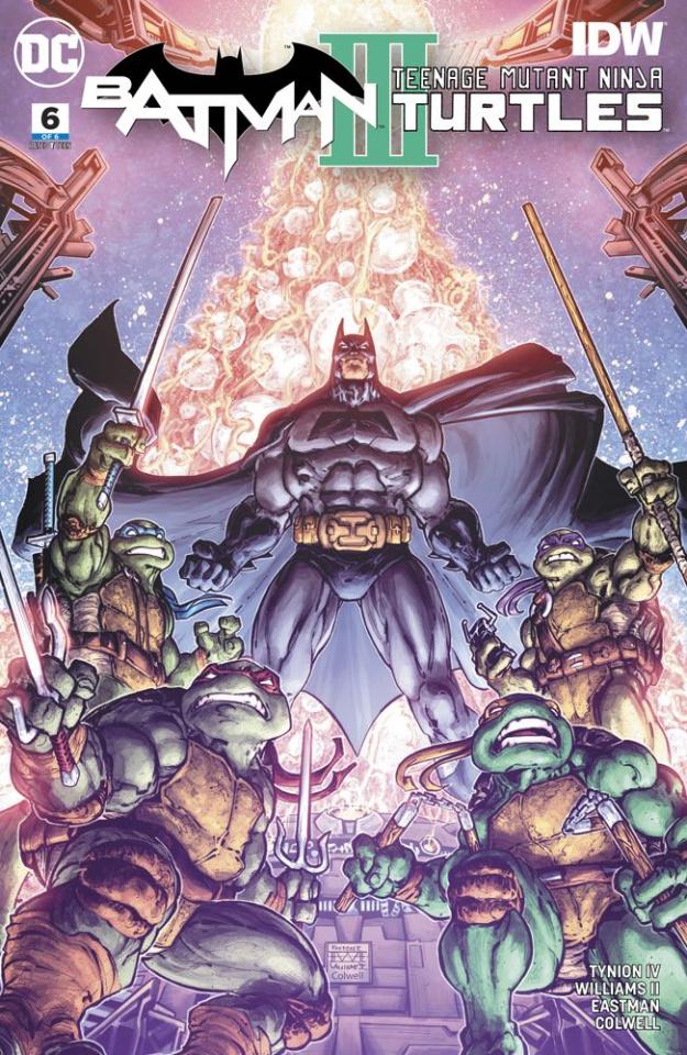 Batman / Teenage Mutant Ninja Turtles III #6