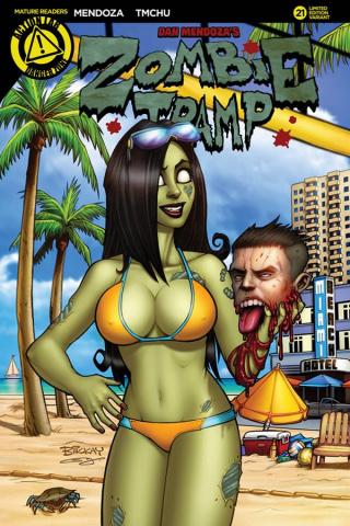Zombie Tramp #21 (McKay Cover)