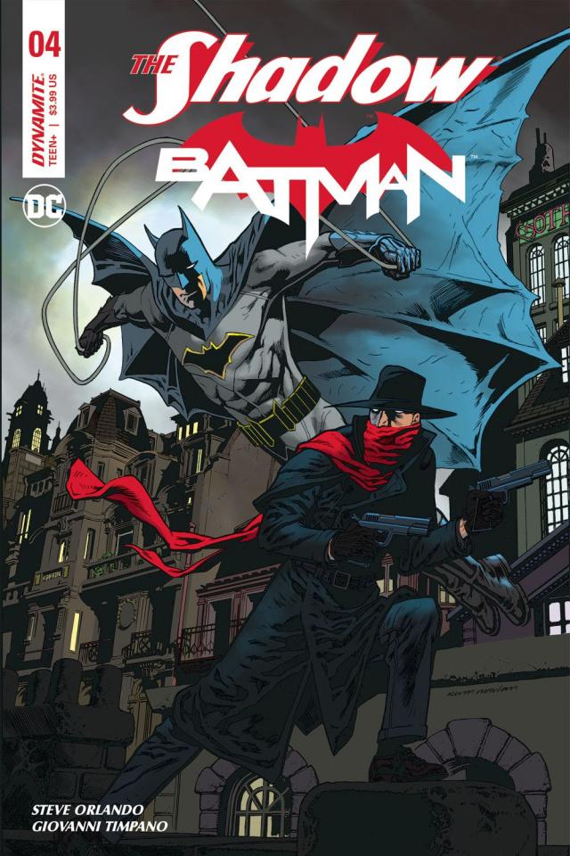The Shadow / Batman #4 (Nowlan Cover)