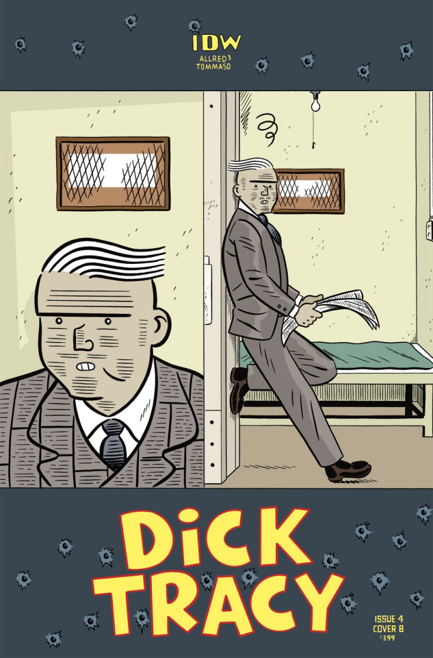 Dick Tracy: Dead or Alive #4 (Tommaso Cover)