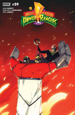 Power Rangers #2 (Nicuolo Cover)