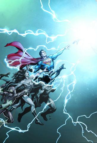DC Universe: Rebirth #1 (Deluxe Edition)