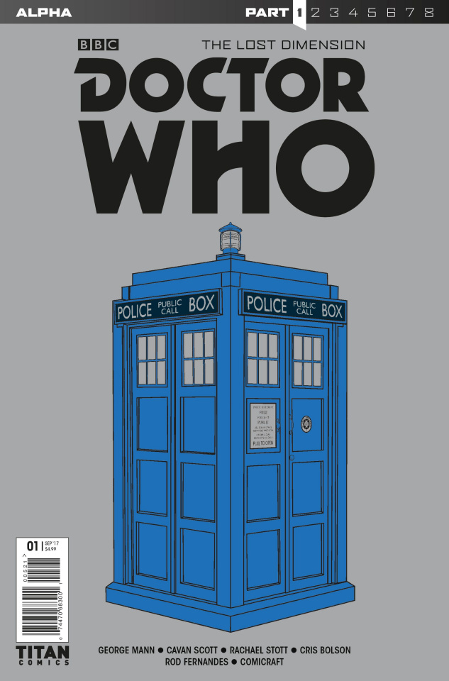 Doctor Who: The Lost Dimension Alpha #1 (Tardis Cover)