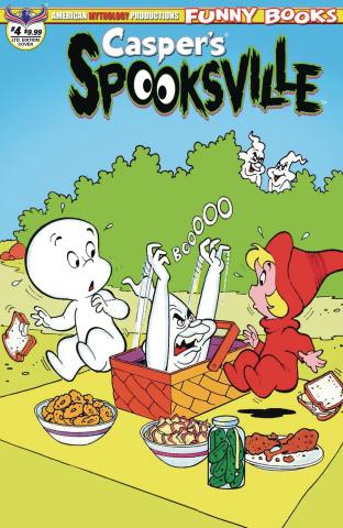 Casper's Spooksville #4 (Retro Animation Cover)