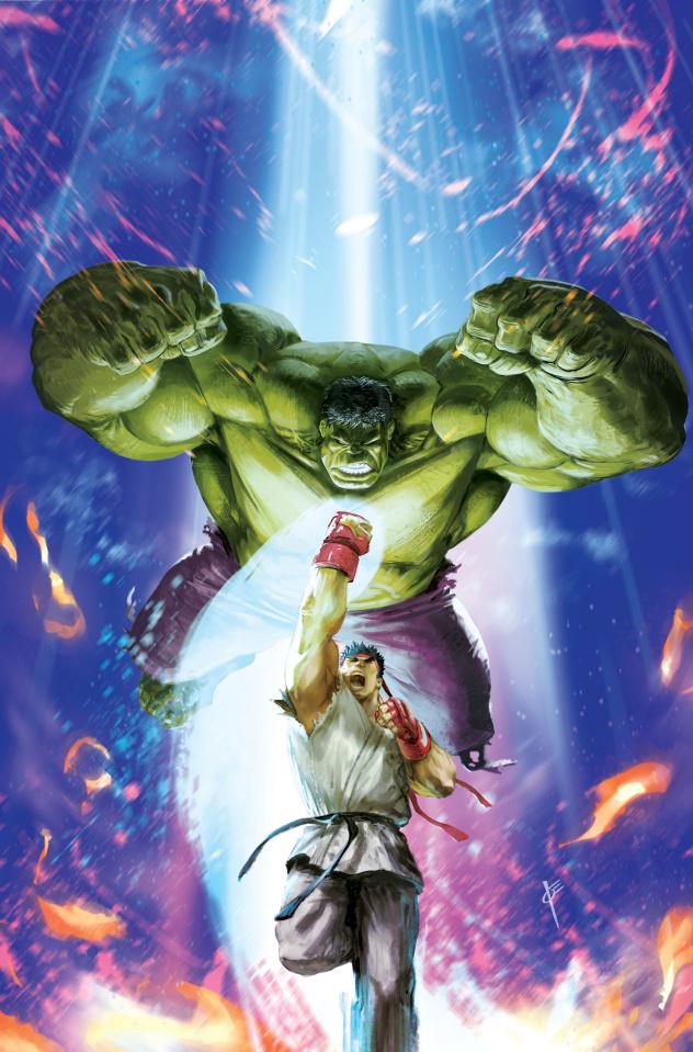 Generations: Banner Hulk & Totally Awesome Hulk #1 (Marvel vs. Capcom Cover)