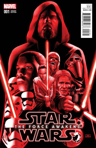 Star Wars: The Force Awakens #1 (Cassaday Cover)
