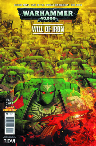 Warhammer 40,000: Will of Iron #2 (Listrani Cover)