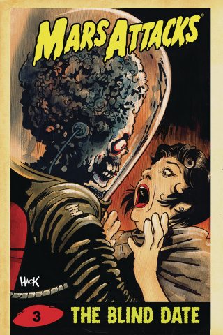 Mars Attacks #3 (25 Copy Hack Virgin Cover)