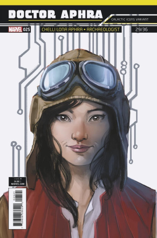 Star Wars: Doctor Aphra #25 (Reis Galactic Icon Cover)
