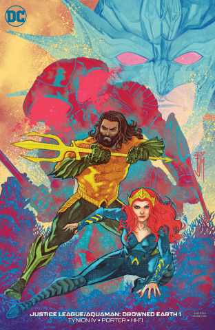 Justice League / Aquaman: Drowned Earth #1 (Variant Cover)