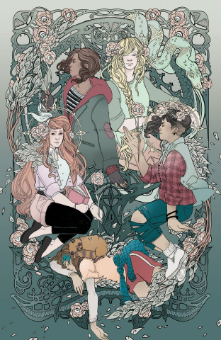 Lumberjanes #35 (20 Copy Mask Cover)