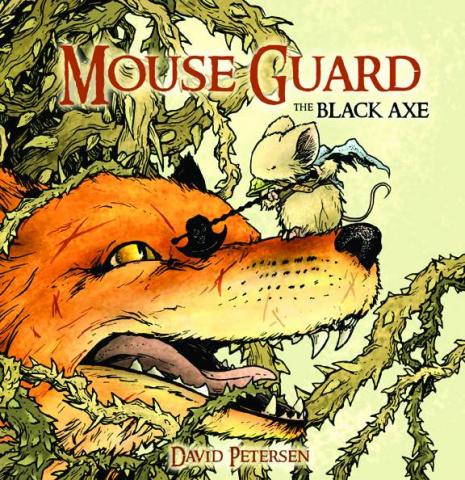Mouse Guard: The Black Axe #4