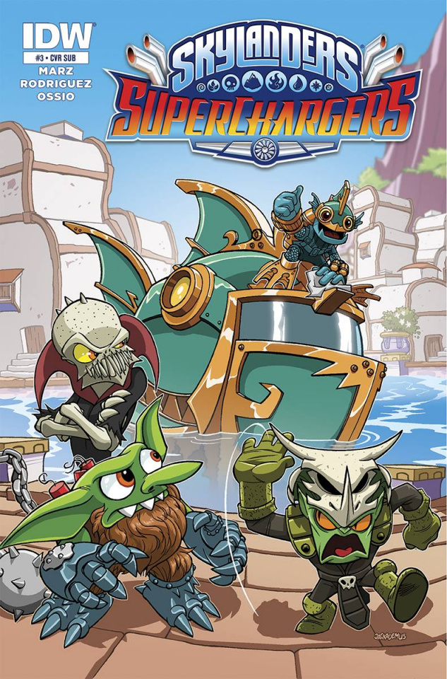 Skylanders: Superchargers #3 (Subscription Cover)