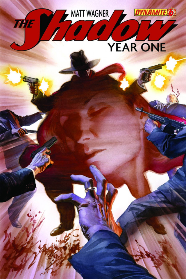 The Shadow: Year One #6 (Ross Cover)