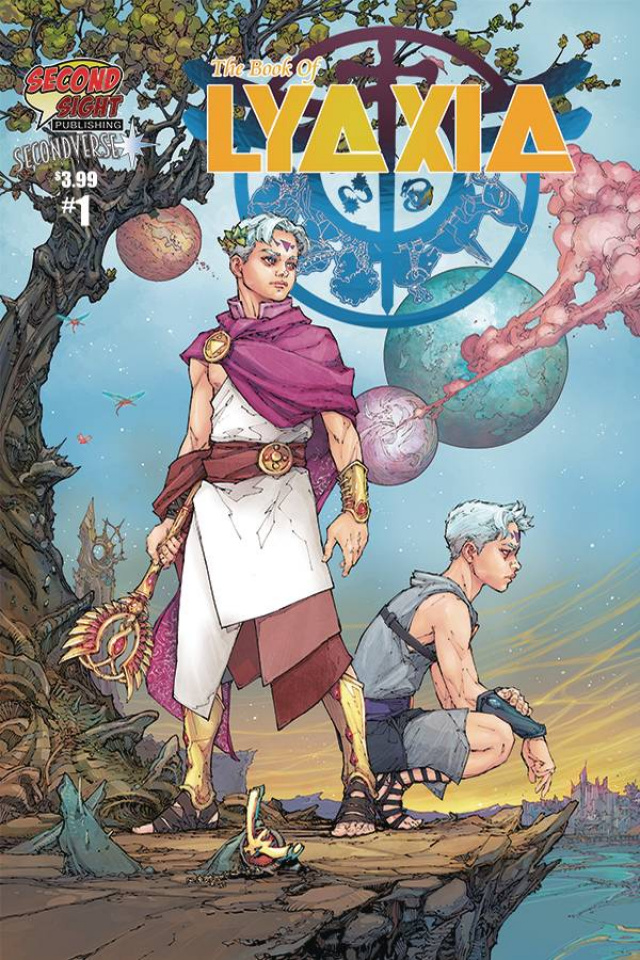 The Book of Lyaxia #1