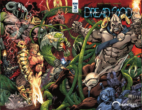 Dread Gods #3 (Sears Cover)