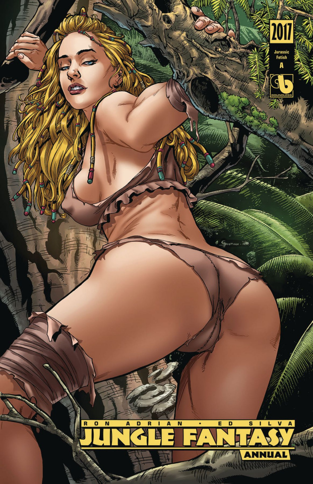 Jungle Fantasy Annual 2017 (Jurassic Fetish Cover)
