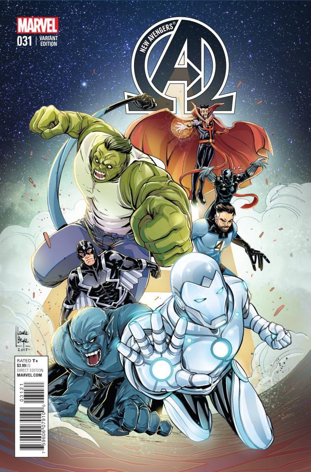 New Avengers #31 (Women of Marvel Braga Cover)