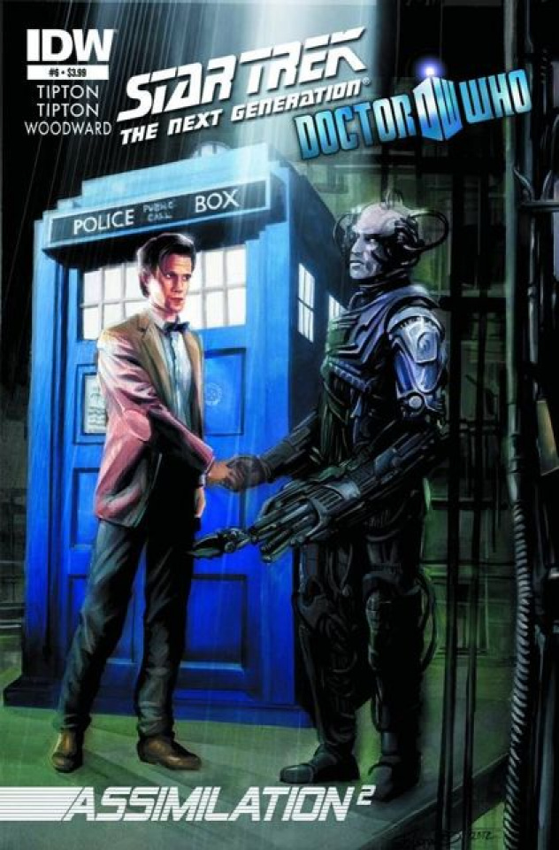 Star Trek: The Next Generation/Doctor Who - Assimilation #6