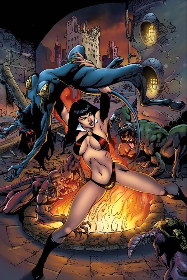 Vengeance of Vampirella #6 (7 Copy Castro Virgin Cover)