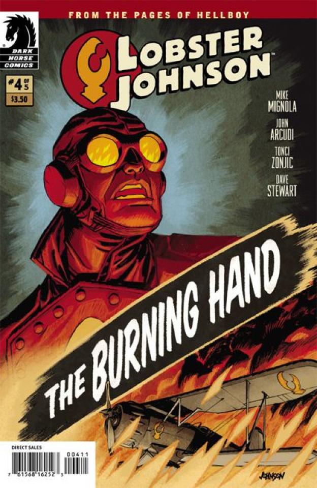 Lobster Johnson: The Burning Hand #4