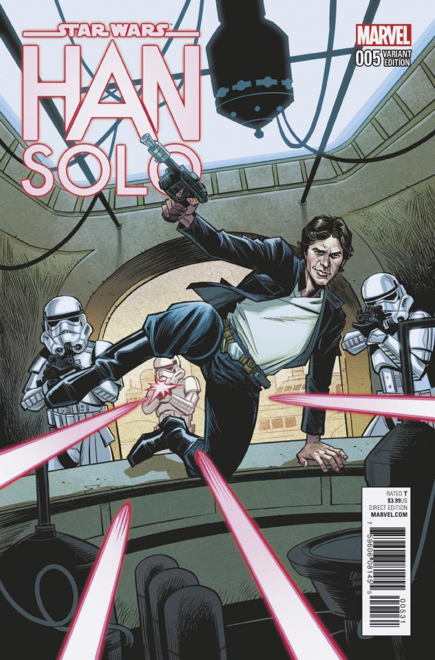 Star Wars: Han Solo #5 (Stewart Cover)