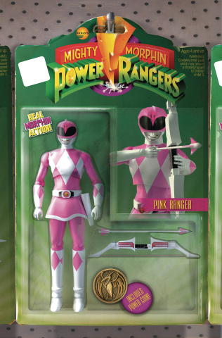Mighty Morphin' Power Rangers #3 (Unlock Action Figure Cover)