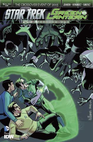Star Trek / Green Lantern #5