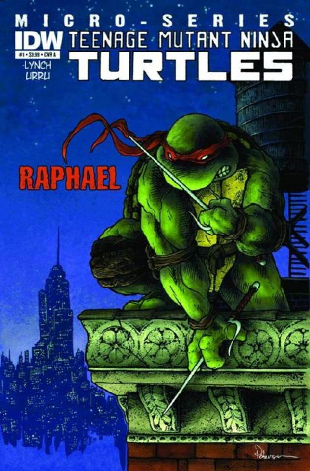 Teenage Mutant Ninja Turtles #1: Raphael (Global Conquest Edition)