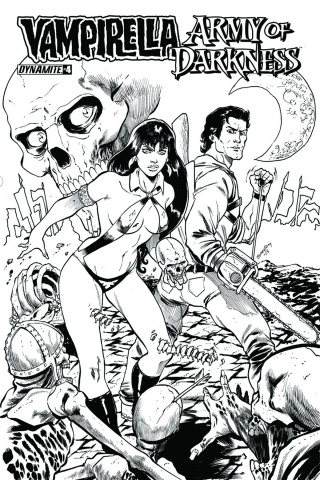 Vampirella / Army of Darkness #4 (10 Copy Cover)
