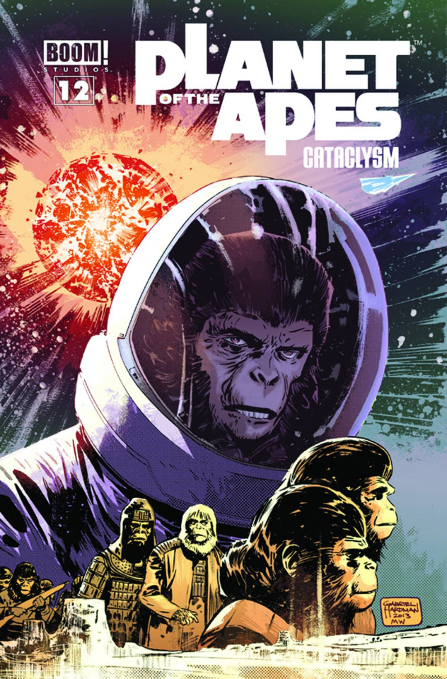 Planet of the Apes: Cataclysm #12