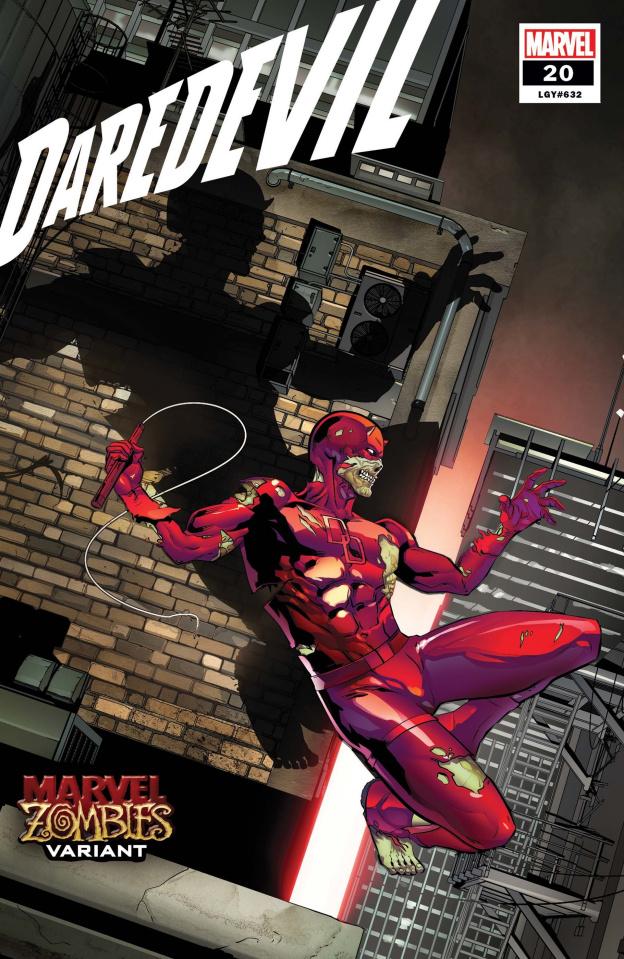 Daredevil #20 (Sliney Marvel Zombies Cover)