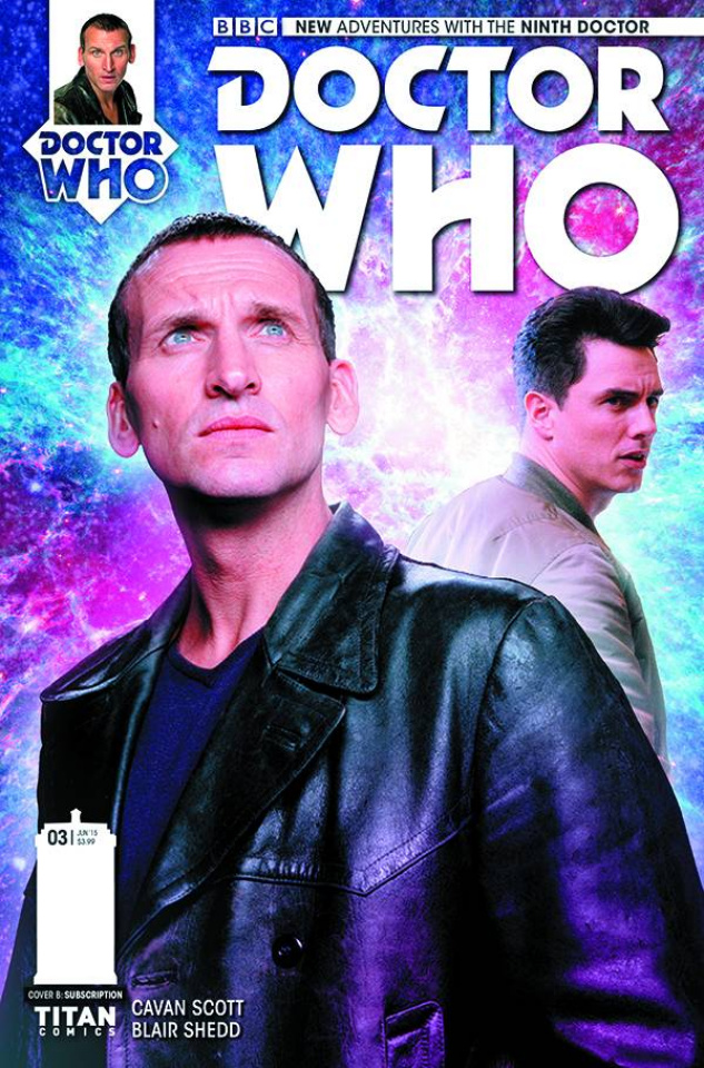 Doctor Who: New Adventures with the Ninth Doctor #3 (Subscription Photo Cover)