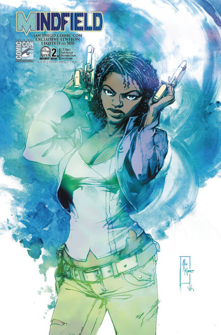 Mindfield #2 (SDCC 2010 Cover)