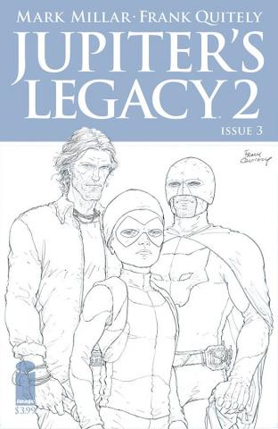 Jupiter's Legacy 2 #3 (Quitely Sketch Cover)