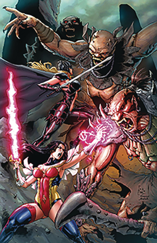 Grimm Fairy Tales #18 (Casas Cover)