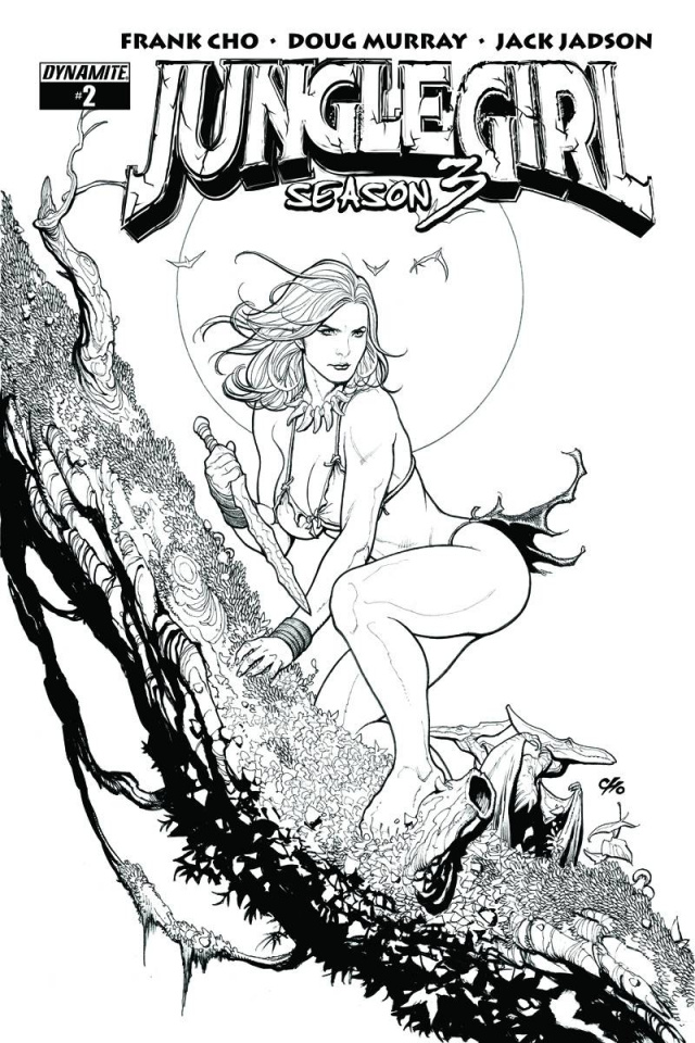 Jungle Girl, Season 3 #2 (10 Copy Cho B&W Cover)
