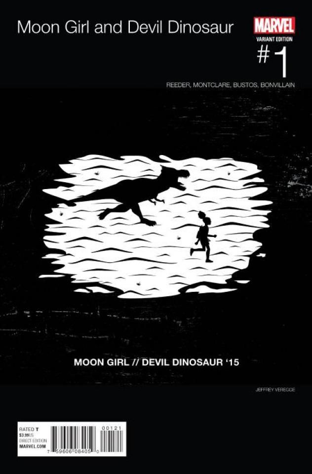 Moon Girl and Devil Dinosaur #1 (Quinones Hip Hop Cover)