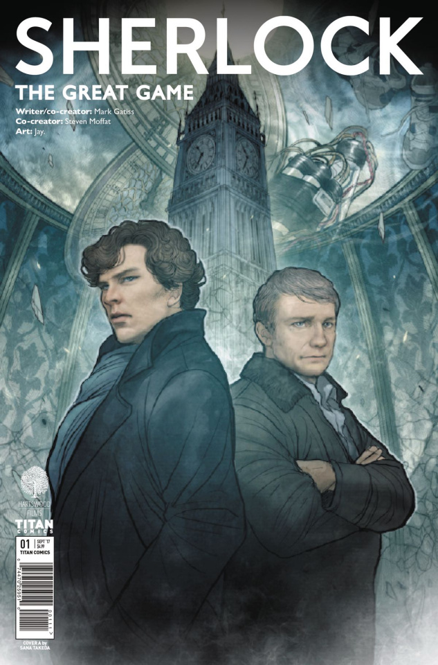 Sherlock: The Great Game #1 (Takeda Cover)