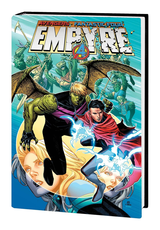 Empyre (Omnibus Cheung Hulkling / Wiccan Cover)