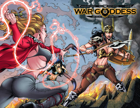 War Goddess #12 (Wrap Cover)