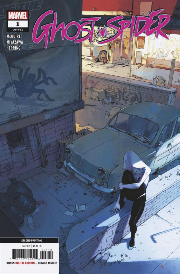 Ghost Spider #1 (Bengal 2nd Printing)
