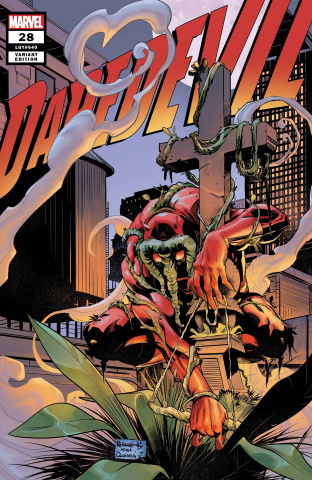 Daredevil #28 (Height Daredevil-Thing Cover)