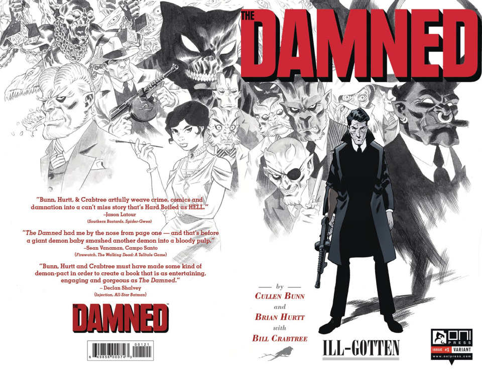 The Damned #1 (Foil Stamp Cover)